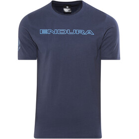 Endura One Clan Carbon - Camisetas - azul
